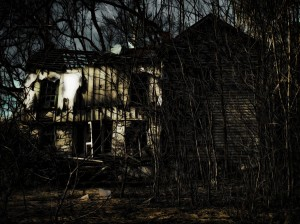"""Haunted House"" by Walt Stoneburner is licensed under CC-BY 2.0"